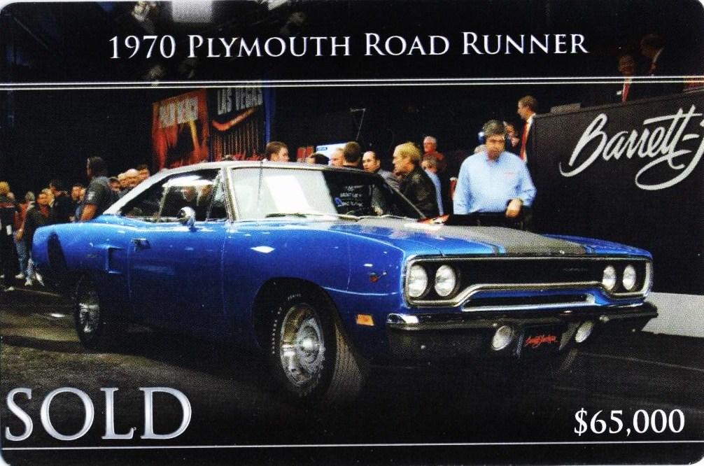 Greenlight 1970 Plymouth Road Runner