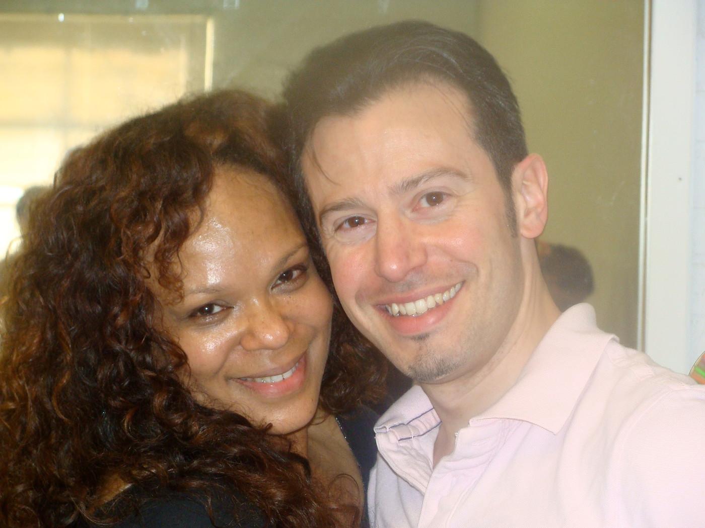 Maria Torres and Erik Novoa