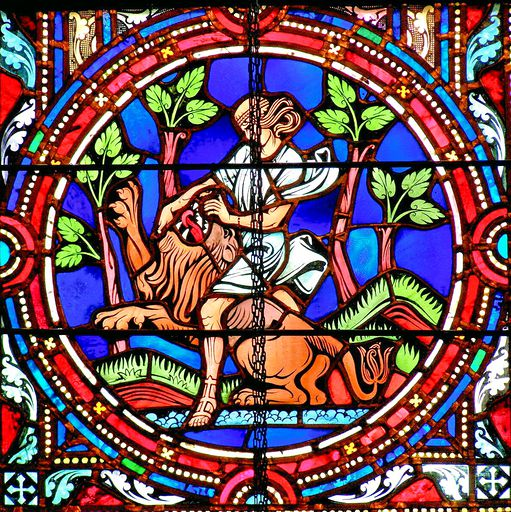 SAINTS PETER AND PAUL CHURCH - STAINED GLASS - 33