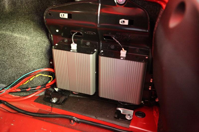 S197 Mustang Shaker 1000 sub-box disassembly