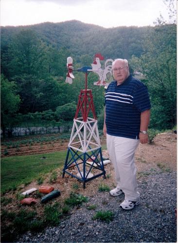 25-Dillard Massengale, at home in Smokey Junction, Scott, Tennessee.