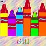 Crayons at schoolGill